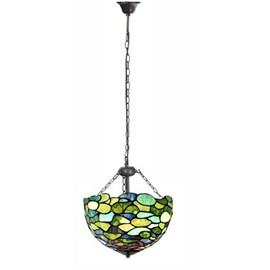 Tiffany Pendant Light Hydrangea with 3 chains