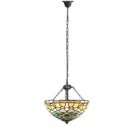 Tiffany Pendant Lamp Campanula with 3 chains