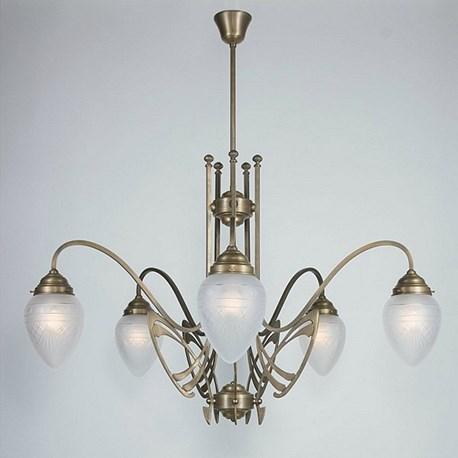 Art nouveau chandeliers aloadofball Image collections